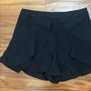 Black AQUA Dress Shorts